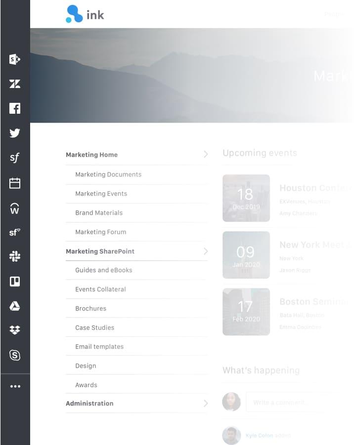 App Bar screenshot.