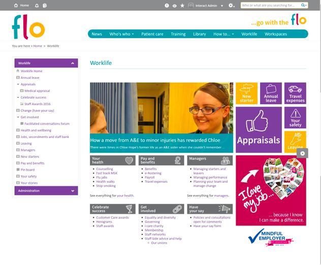 Kent Community NHS Trust Flo
